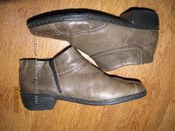 ARA комфортные деми ботинки-бегунки бренда ARA р. 5. 5 можно на широкую ножку
