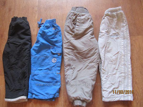 Разные штаны деми и зима фирменные