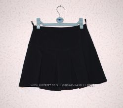 Классическая черная юбка на девочку 12-15 лет р. XS