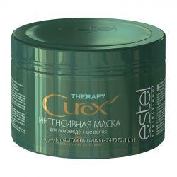 Акция  Интенсивная маска CUREX THERAPY для поврежденных волос Все в наличии