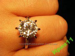 кольцо, разные Сваровски, фиониты, цирконий, новые, покрытие, возможен обме