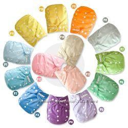 Однотонные подгузники многоразовые флисовые