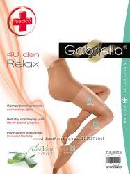 Противоварикозные лечебные и корректирующие колготки Gabriella. Польша