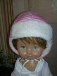 зимняя и деми осенняя шапки обмен