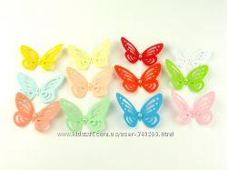 Бумажные бабочки   скрапбукинг