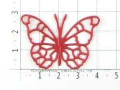 Вырубка сердца, бабочки для скрапбукинга и другого творчества