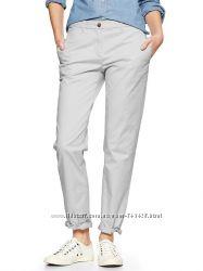 Gap Летние брюки светло-серые, хаки. Новые.