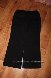 Фирменные стильные брюки для беременных 14 размера