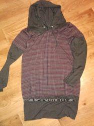 НОВАЯ туника-платье  для беременной 44-46