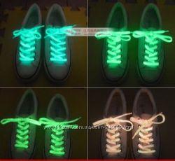 Флуоресцентные шнурки для обуви