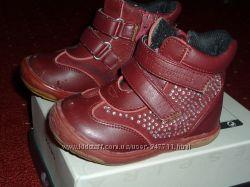 Кожаные Ботинки Шалунишка для девочки 21  и  22 размер