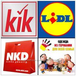 Германия Экономные Покупки KIK LIDL NKD SPORTSDIRECT MATALAN GEORGE TESCO