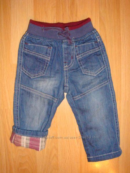 Джинсы, штаны ZARA, Mothercare р. 6-9 мес.
