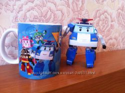 Poli robocar Робокар Поли чашка
