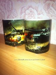 World of Tanks чашка