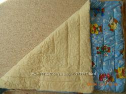 Одеяло для детей на овчине