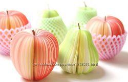 Аппетитные блокноты - фрукты, опт скидки