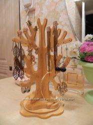 Подставка органайзер для сережек и украшений