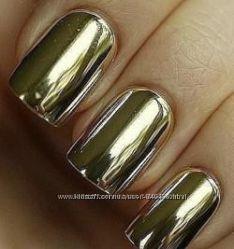Пленка Minx золото и серебро для ногтей