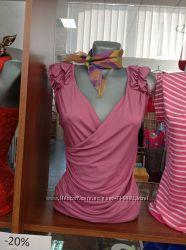 Продам блузу розовую в размере 46-48