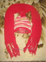 Шапка и шарф производства Польши Цена снижена