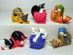 Кошки на клубках - киндер -