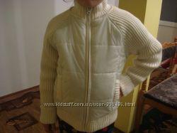 Куртка детская рост 128 7-9лет осень весна качественная