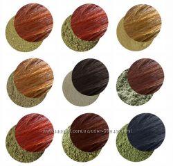 СП натуральных ингредиентов для окраски волос и ухода хна, басма