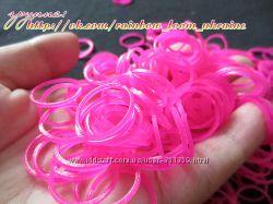 резинки желейные для плетения браслетов rainbow loom
