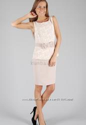 9db3430d7332526 Платье комбинированное с бантом, Rinascimento, Италия, 450 грн ...