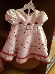 Нарядное платье. 18 м. WonderKids. Aмерика