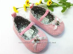 Туфельки пинетки MOTHERCARE размеры 6-12мес, 12-18мес
