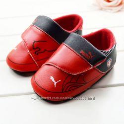 Первые кроссовки Puma размеры 6-12мес, 12-18мес