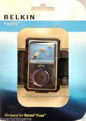 Чехол для занятия спортом с MP3 плееров и iPod nano и SanDisk Sansa Fuze