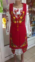 Национальный костюм ручной работы