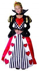 карнавальный костюм королева сердец110-140см