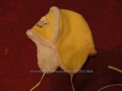 Зимняя  шапка-шлем, 44 размер