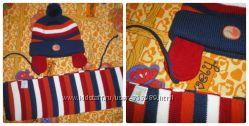 Набор шапка  шарф Gagou Tagou