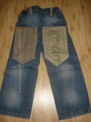 стильные джинсы на мальчика 5-6 лет