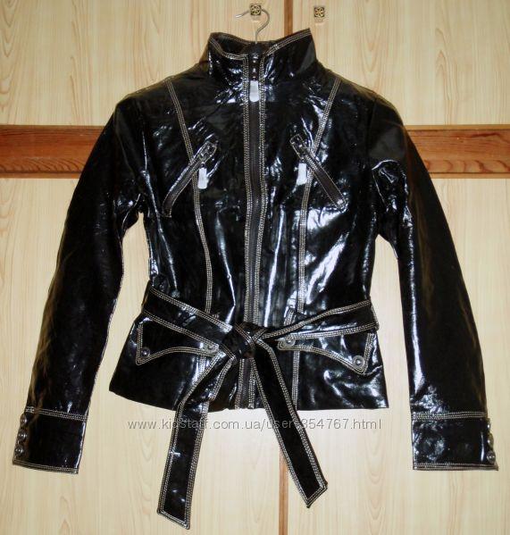 Новая стильная куртка, кожзам 42-44