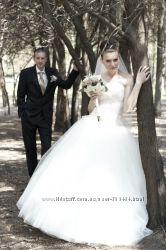 Шикарное свадебное платье ВАША ЦЕНА