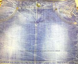 Джинсовая юбка Tchibo размер 48-50наш