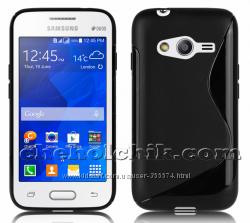 Чехол для Samsung Ace 4 G313H G313HU с 2 пленками в подарок