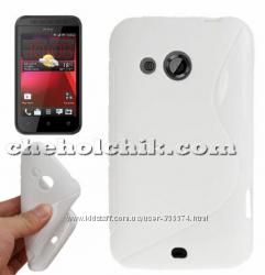 Чехол для HTC Desire 200 с 2 плёнками на экран