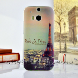Новый чехол с рисунком для HTC One M8
