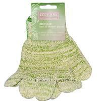 Перчатки-мочалка EcoTools, Recycled Bath & Shower Gloves, 1 Pair