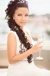 Свадебный  макияж. Визажист Киев.