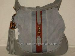 кожаная сумка Gucci Jackie 218491 цвета