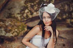 Свадебная шляпка для смелой и сексуальной невесты
