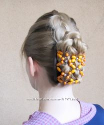 Роскошные заколки для волос Magic Butterfly, реплика  African butterfly